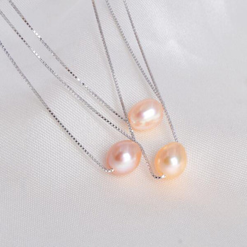 ASHIQI Natural freshwater pearl necklace