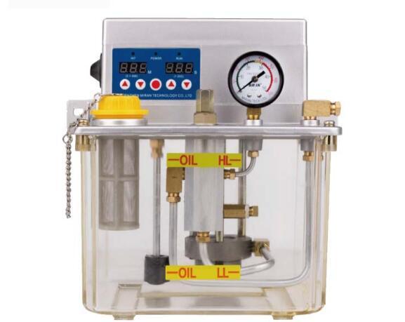 Miran 3 litres MR-2232-300TAB CNC pompe de lubrification électrique pompe à huile de lubrification automatique avec alarme sonore pompe à lubrifiant