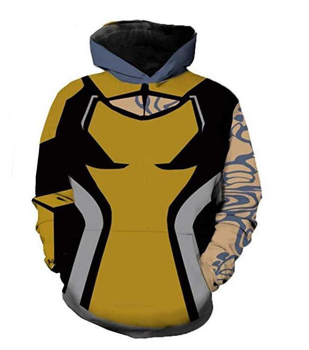 Лилит косплей костюм 3D печатных толстовка куртка Футболка мужская и женская одежда
