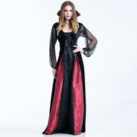2019 Halloween Costume Cosplay Europen and American Style Female Demon Vampire Witch Zombie Dress Halloween Ghost Bride Costume