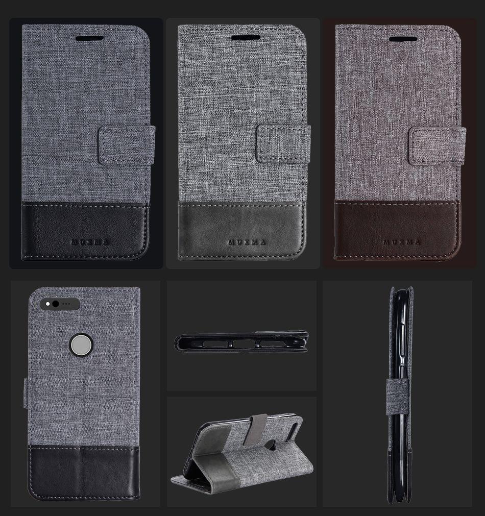 Case For Google Pixel XL Case Flip Wallet PU Leather Funda For Google Pixel Case Stand Card Slot Business British Capa