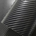 "76*250CM Glossy 4D 5D 6D Black Carbon Fiber DIY Car Wrap Bubble Free Air Release Sheet Roll Film Sticker Vinyl Decal 30""*100"""