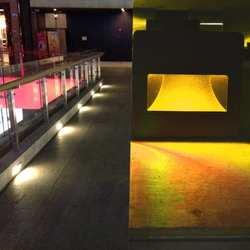 3 Вт AC85V-265V свет в ночь Footlight Embedded углу лампы открытый шаг огни лестницы Водонепроницаемый встраиваемые подземный свет