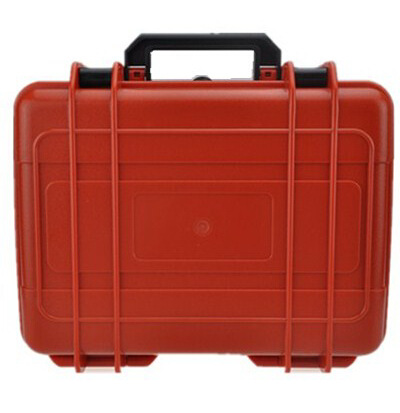ABS red color hard tool case with prcut cube foam waterproof dustproof full cube precut foam for case sq1284 without the hard case