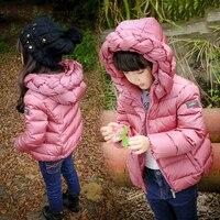 Girls Kids Winter Jacket Zipper Girl Outwear Down Coat Clothes Girls Children Keep Warm Long Winter Coat Kids Children Clothes