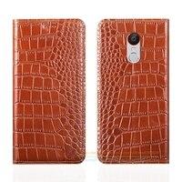Crocodile Grain Genuine Leather Case For ZTE Nubia Z11 MAX 6 0 Luxury Mobile Phone Cover