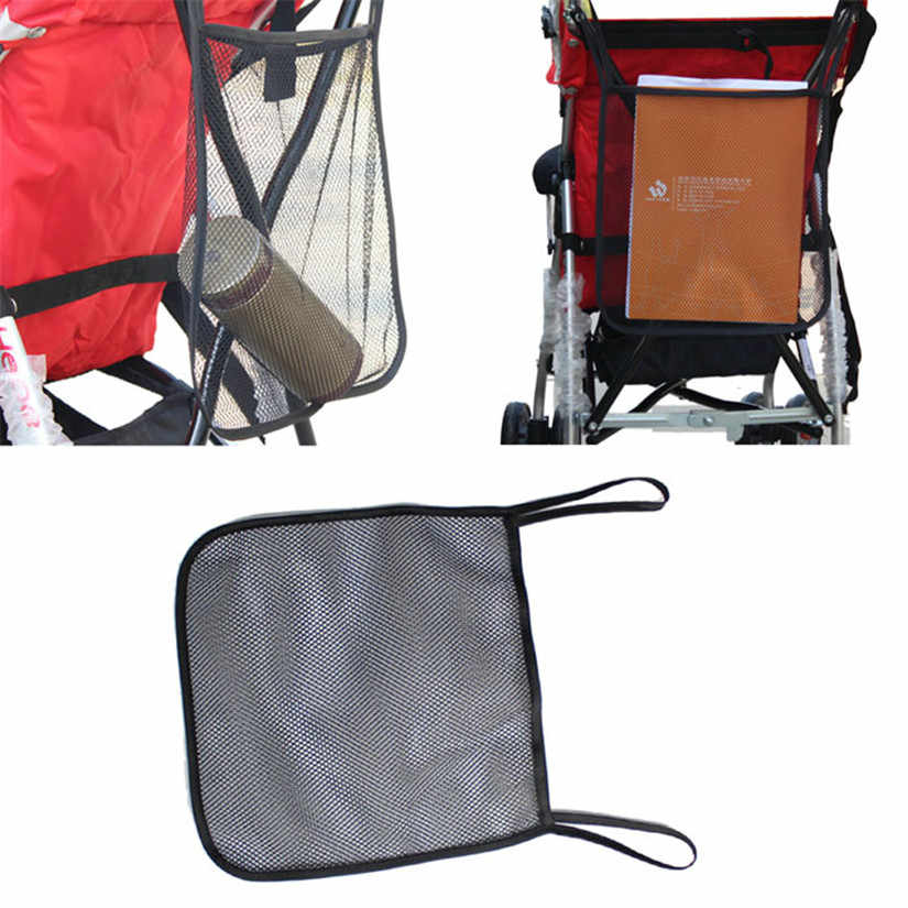 New Qualified 2017 New Storage Baby Stroller Carrying Bag Baby Stroller Mesh Bag A Net BB Umbrella Car Accessor dig666