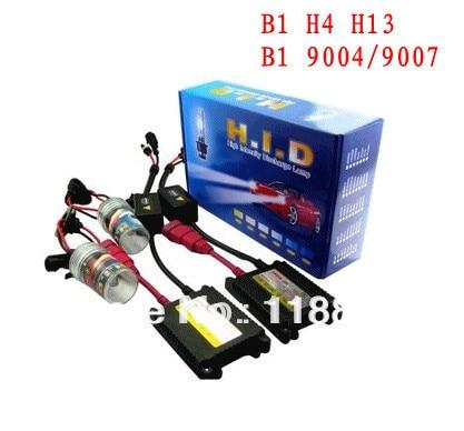 HID xenon lights kit B1 H4 H13 9004 9007 35 w slim ballast is 4300K 5000K 6000K 8000K 10000K 12000K 35w xenon hid bulb headlight lamp auto car d2s 4300k 5000k 6000k 8000k 10000k 12000k