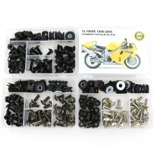 For Suzuki TL1000R 1998-2005 Complete Full Fairing Bolts Kit Bodywork Screws Steel Fairing Clips Speed Nuts Covering Bolts nicecnc complete cnc fairing bolts kit bodywork screws nut for suzuki sv650 sv650s sv1000 sv1000s rgv250 rf600r rf900r