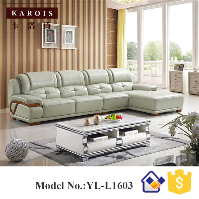 Online Shop New Style modern corner leather sofa designs drawing