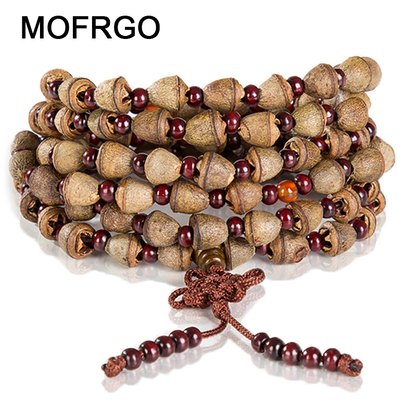 New arrival Fashion Nepal Bodhi seed bracelet Handmade 108 Buddha Beads Bracelets Natural flavors Bodhi Nature small Admiralty