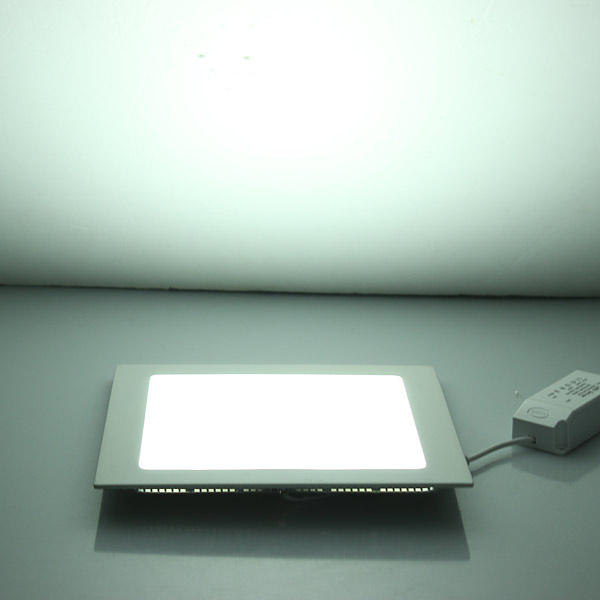 LED Panel Downlight 3W / 6W / 9W / 12W / 15W / 25W Ceiling Recessed Slim Ultra Thin Square LED Panel Light for Kitchen Bathroom