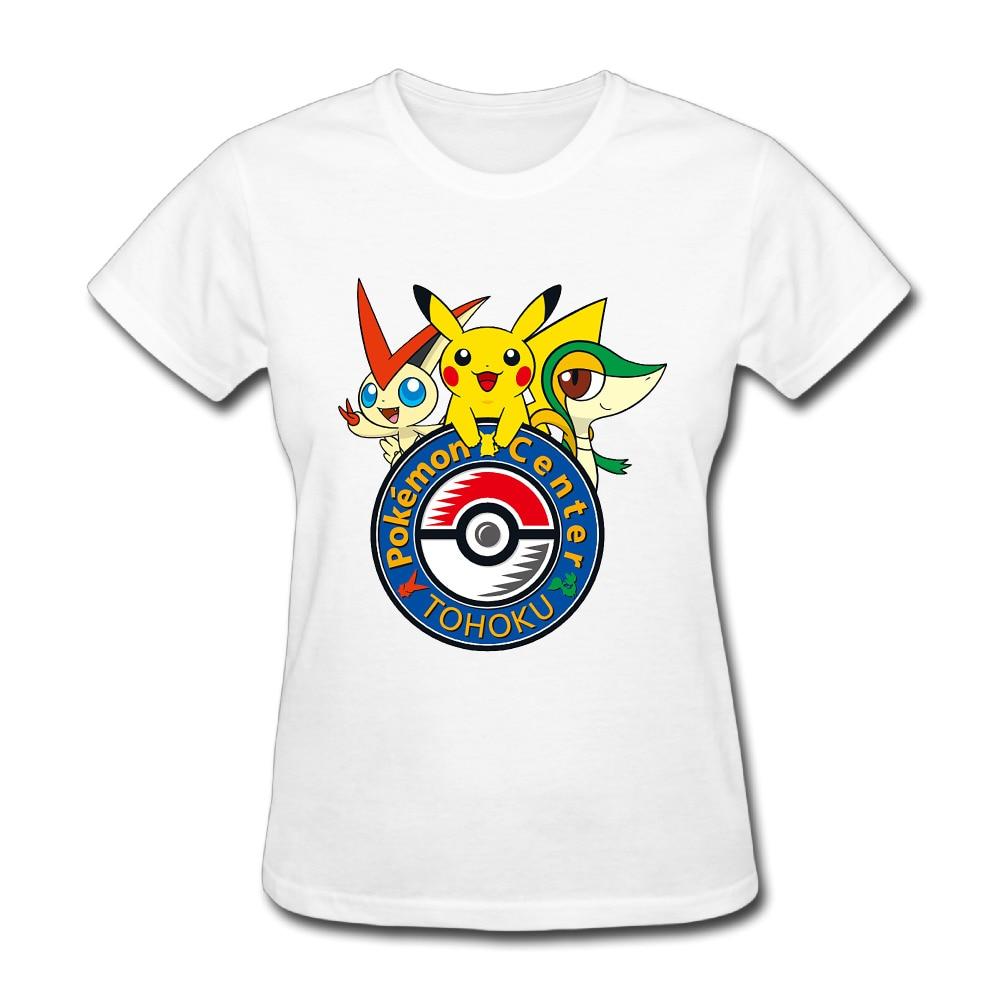 Pokemon Center Customer Service - Pokemon center tokyo t shirts for women harajuku funny product tops lady casual short sleeve