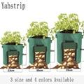植物成長バッグ家庭菜園ポテト温室野菜植栽袋保湿ジャルダン垂直庭成長バッグ苗ポット