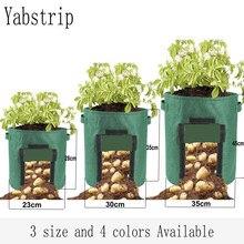 Sac de culture pour plantes, bâche de croissance d'arbres pour jardin de maison, pommes de terre, serre, légumes, hydratant, vertical, récipient de jardinage, pot de semis