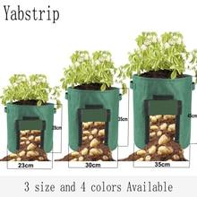 Bolsa de cultivo de plantas para el jardín de casa, bolsa de cultivo de verduras para invernadero, bolsa humectante para jardín Vertical, bolsa para cultivo de semillas