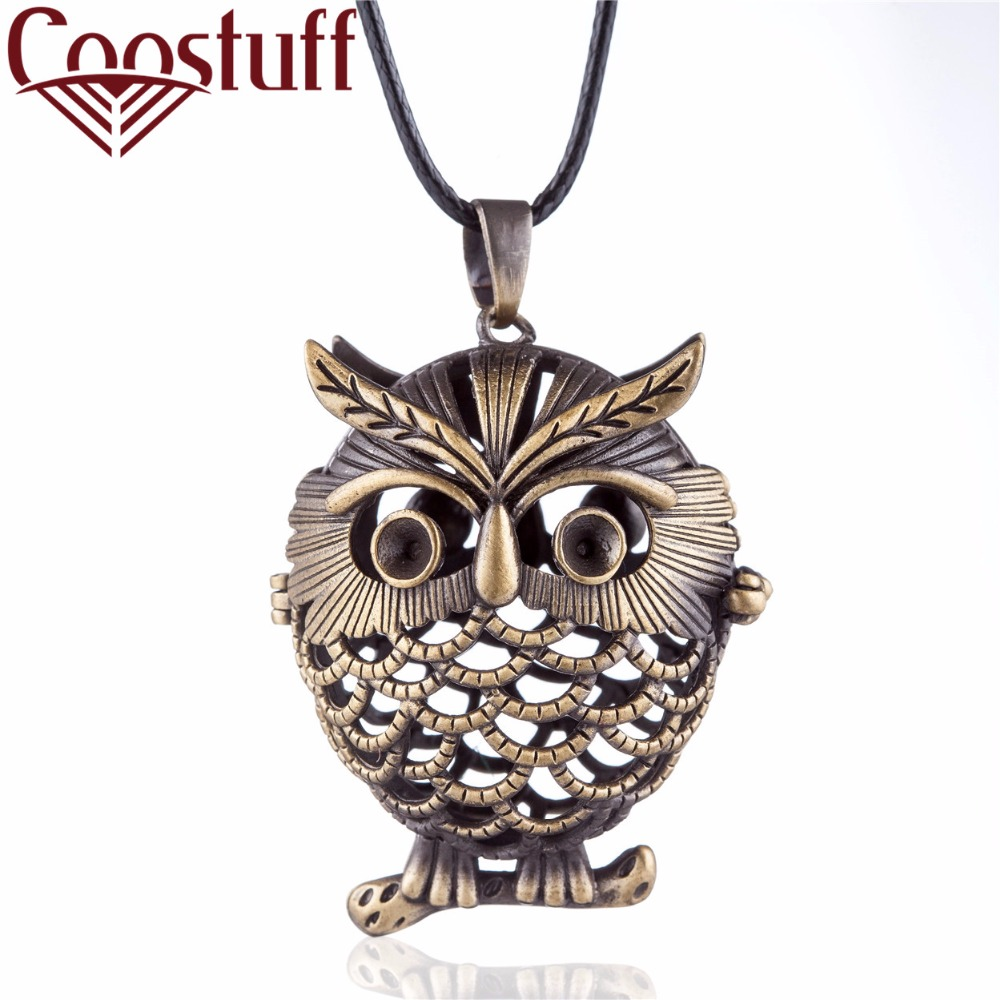 colar Vintage Owl statement necklaces & pendants Women Jewelry Long necklace women collares mujer choker kolye bijoux femme
