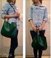 Vintage bag New American LUXURY Style Genuine Leather Women Shoulder Bag Brand Designer Cowhide  handbags Skin Crossbody bag