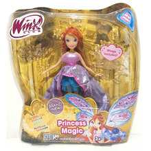 2018 Newest Winx Club Doll rainbow colorful girl Action Figures Many Movable Joints Dolls with Wing Classic Toys For Girls Gift