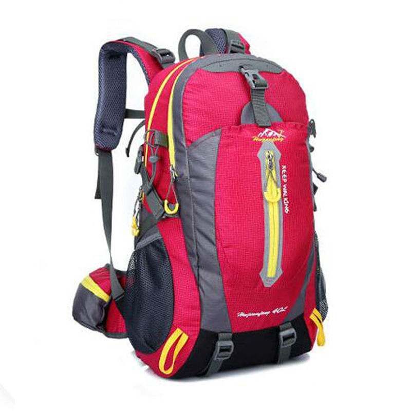 40L Waterproof Nylon Backpack women bag Mountaineering Travel Backpack men mochila brand rucksack trekking backpack 2016 brand 40l waterproof nylon women
