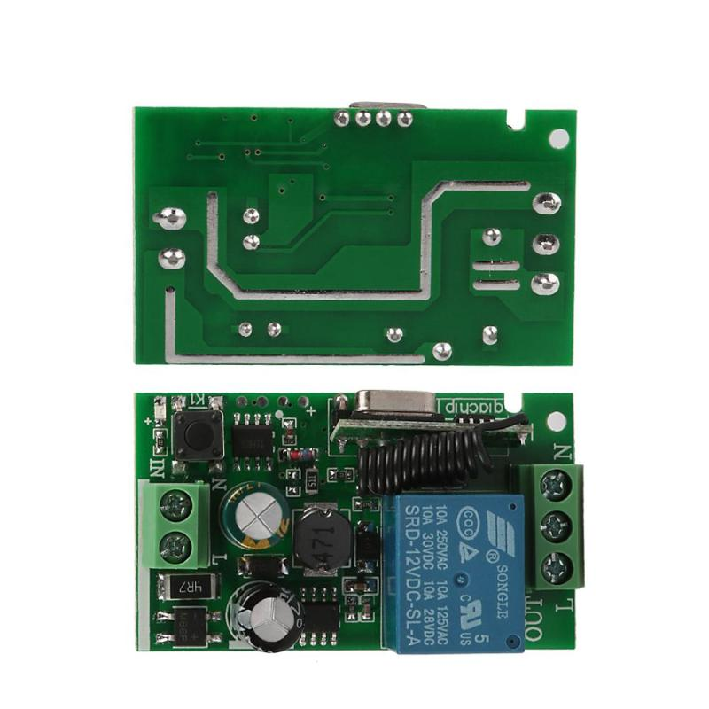 QIACHIP-433-Mhz-Wireless-Remote-Control-Switch-110V-220V-1CH-433Mhz-relay-Receiver-Module-For-learning (1)