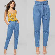 new arrival 2019 solid wash boyfriend jeans for women high waist blue trousers plus size casual female jeans denim sale items brand new arrival high quality female jeans casual high waist women jeans skinny denim pants black blue trousers plus size s 6xl