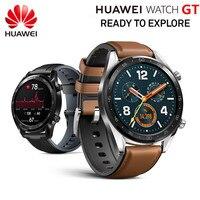 В наличии! Смарт часы Huawei GT Спортивные часы 1,39 ''heartrate отчет сна мониторы AMOLED экран gps Smartwatch 14 дней в режиме ожидания