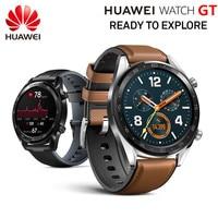 Original HUAWEI Smart WATCH GT Sport Watch 1.39'' Heartrate Report Sleep Monitor AMOLED Screen GPS Smartwatch 14days Standby