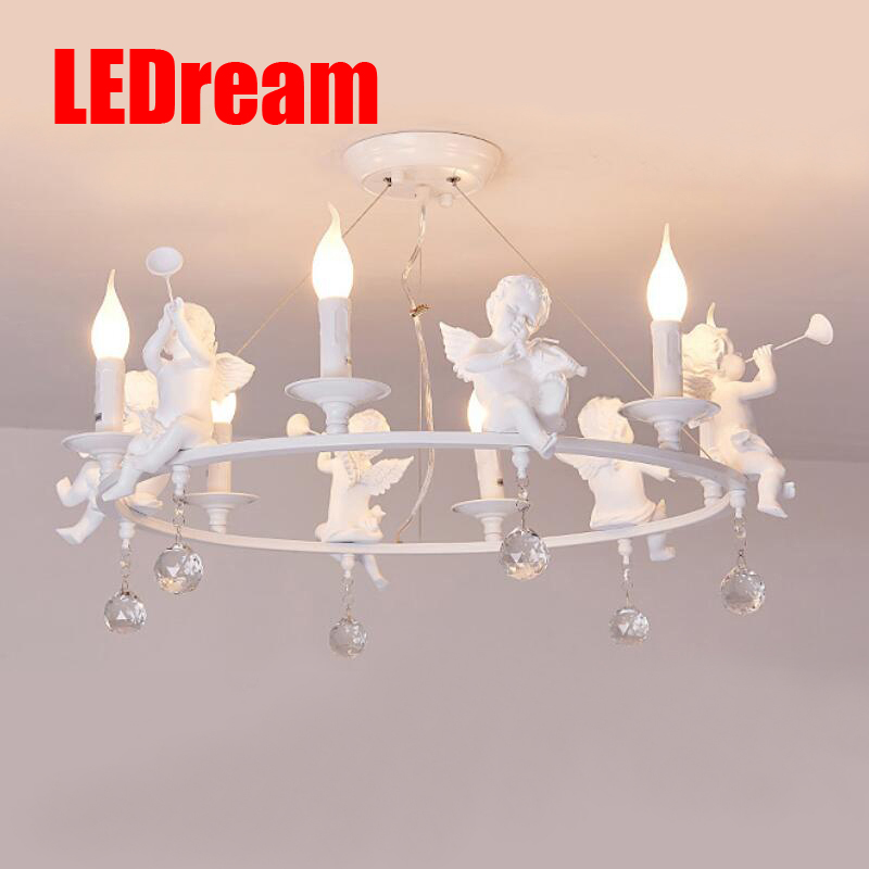 LEDream Nordic country rural angel pendant dining-room lamp bedroom lampssitting room lamps and lanterns lighting warm bedroom ledream contracted and contemporary restaurant chandelier lamps of study of the bedroom and rural bar nordic wooden chandeliers
