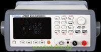 Измеритель тока утечки тестер 200mA (макс.) Выходное напряжение 1V ~ 650VDC 1nA ~ 20mA ток утечки/измеритель сопротивления изоляции AT680