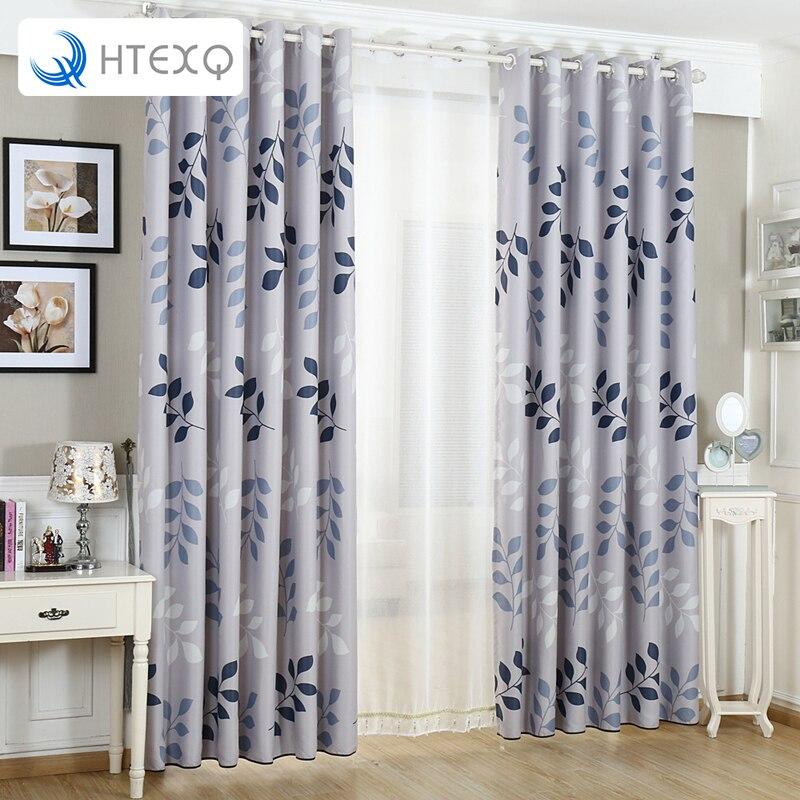 Neue Vorhnge Fr Mode Licht Grau Sonne Null Millennial Kara Zimmer Verdunkelung Panel Druck Schatten Vorhang