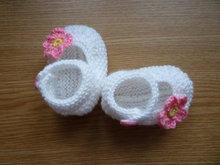 White, Knit Baby boots, knit girls boots, knit Baby booties, , handmade baby girl shoes , knitted baby shoes