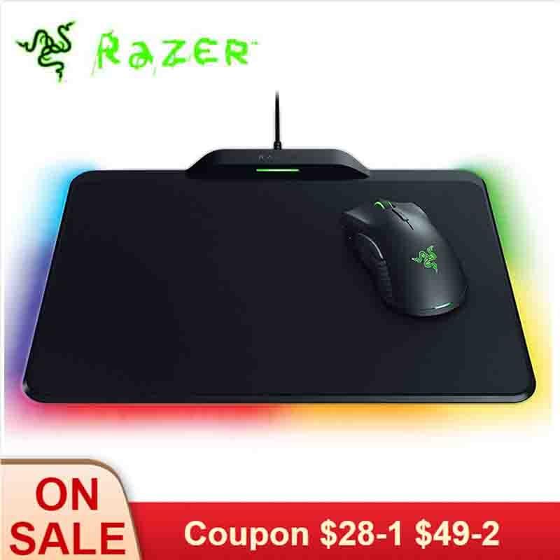 Razer のマンバ Hyperflux ワイヤレスゲーミングマウス 16000 DPI 5 グラム光学センサー 450 IPS + ホタル Hyperflux マウスパッドマットワイヤレス電源  グループ上の パソコン & オフィス からの マウス の中 1