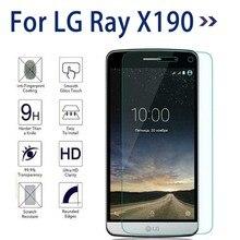 0.26 мм Premium 9 9н 2.5D Закаленное Стекло Для LG Ray X190-экран Протектор Закаленное Защитная Крышка Для LG RayX190 Фильм Гвардии случае