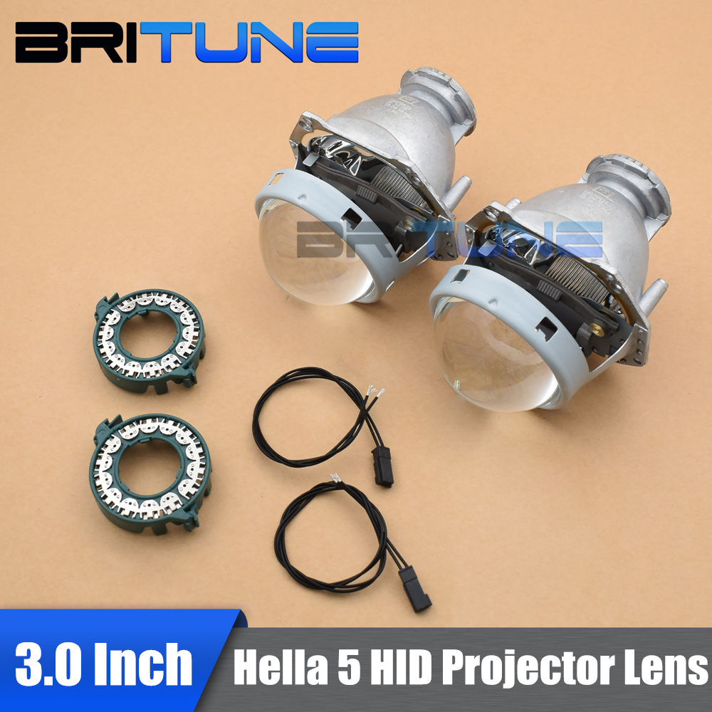 For Hella 5 G3 Upgrade 3 0 LHD Bi xenon Projector Lens Replace Use D1 D2