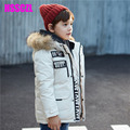2017 Special Offer Winter Coat Children Boy Down Jacket And Long Sections Winter New Children's Clothing Coat Male Big Virgin