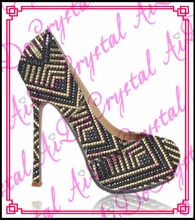 Aidocrystal Multi farbe pumpen heels damen sexy schuhe marken womens stiletto high heels dünne ferse 5,5»