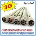 Melhor Preço!!! 4dBi Omni Antena Interna Para 3G WCDMA 2100 Mhz Celular Repetidor de Sinal de Reforço, 5 pçs/lote