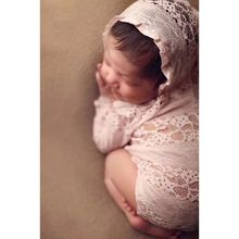 New Children Photography Clothing Newborn Lace Clothes Full Moon Hundred Days Baby Princess Hat Onesies new children blanket baby hundred days to take pictures of linen cloth newborns photography props 75cmx80cm including burr 7cm