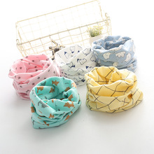 Cotton Baby Scarf Baby Bibs For Boys Girls