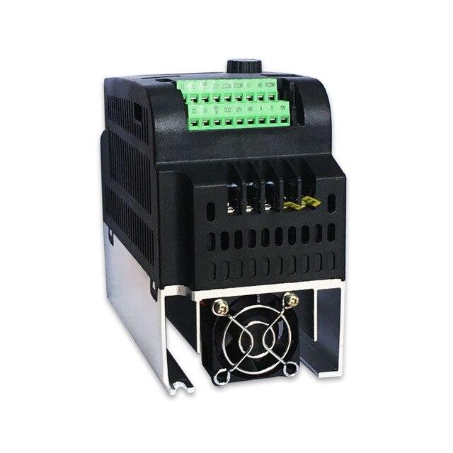 0.75KW inverter VFD 220V VARIABLE FREQUENCY DRIVE INVERTER 1 phase input 3 phase output 220v ac motor