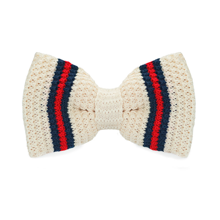 Herren-krawatten & Taschentücher Begeistert Lh-335 Neue Ankunft Beige Gestrickte Bowties Hohe Qualität Mode Bowties Für Frauen Männer Geschenk