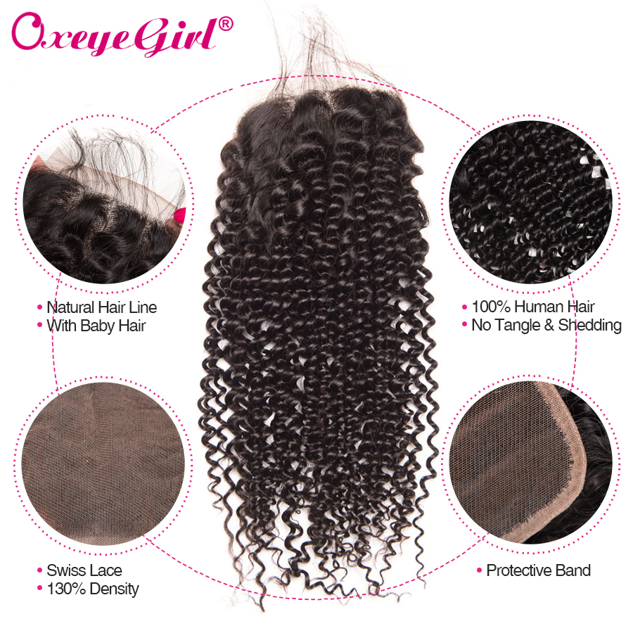 High Quality bundles with closure curly