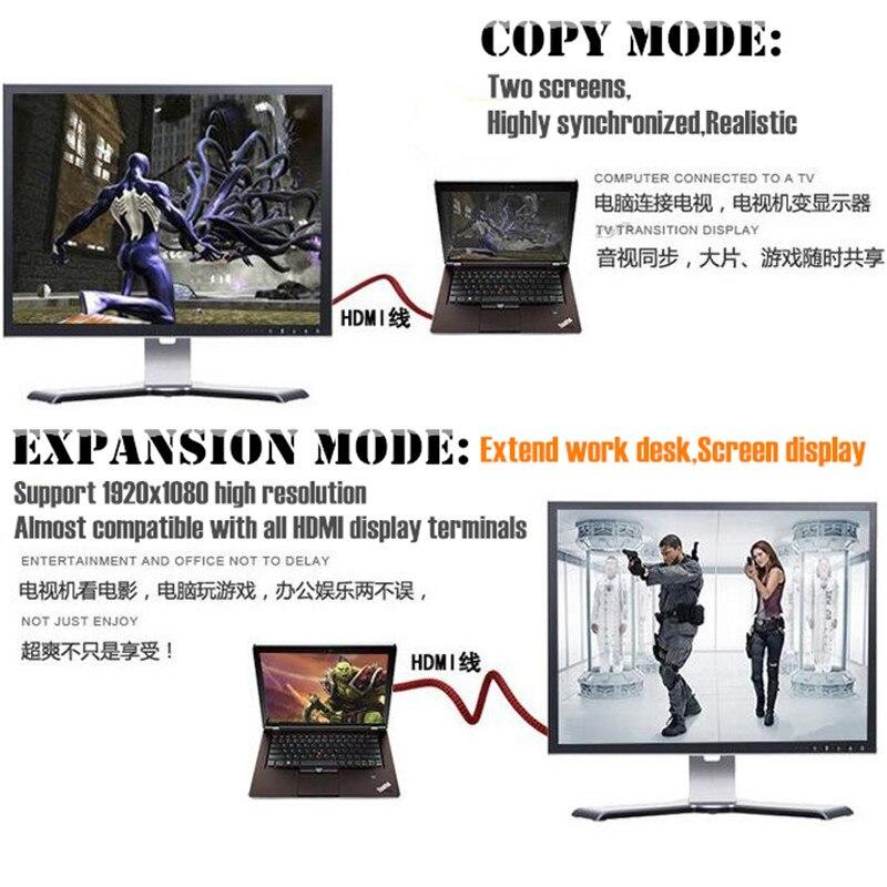 Câble HDMI vers HDMI plaqué or 100 p, maille en Nylon 1.4V HD 1080P pour LCD DVD HDTV XBOX PS3 projecteur PC portable, 1.5M 3M 5 M, Support 3D - 4