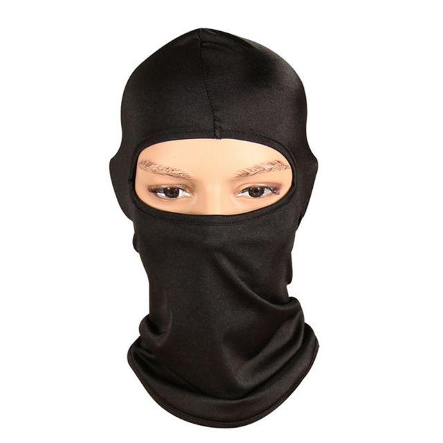 Winter Outdoor Cycling Full Face Mask Skiing Neck Warm Protecting Balaclava Camping Mask Ultra Thin Windproof