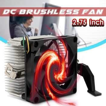 CPU Cooler Fan 9 Leaf 4 Pins 95W CPU Cooling Fan Heatsink For AMD Socket AM2/3 754 939 940 1A02C3W00 Radiator Fan