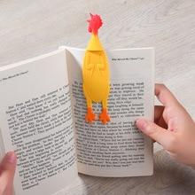 8 видов стилей Милые Животные Angry Chicken закладки каваи кремнезема закладки для книг рекламный подарок канцелярские пленки закладки