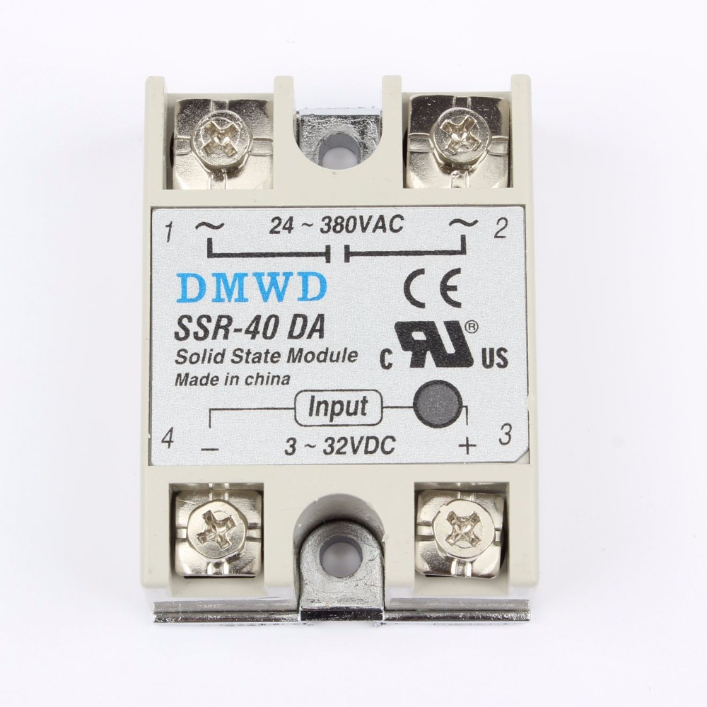 TOP BRAND DMWD solid state relay SSR-40DA 40A  actually 3-32V DC TO 24-380V AC SSR 40DA relay solid state good quality DA solid state relay ssr 10da ssr 25da ssr 40da 10a 25a 40a actually 3 32v dc to 24 380v ac ssr 10da 25da 40da high quality new