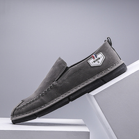 Moccasins Shoes For Men Black Gray Men Loafer Shoes Casual Footwear Comfortable Italian Loafers Mens Driving Shoes Loafers