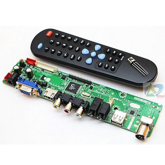 V59 LCD bordo di driver di trasporto incombusti di scrittura firmware LCD bordo di driver di trasporto di scrittura del firmware della scheda madre TV